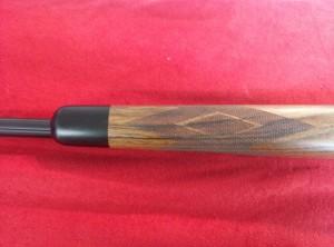 Remington 700 Lefthand 280 AI Ebony fore end & checkering